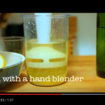 One Simple Thing: Homemade Mayonnaise in Less Than Two Minutes